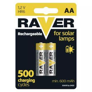 Nabíjacia batéria RAVER 600 mAh HR6 (AA) /2ks
