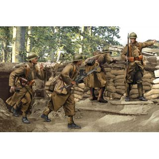 Model Kit figurky 6738 - FRENCH INFANTRY (SEDAN 1940) (1:35)