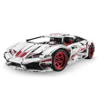 LP610 racing car RC stavebnice z kostek