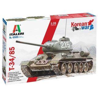 Model Kit tank 6585 - T-34/85 Korean War (1:35)