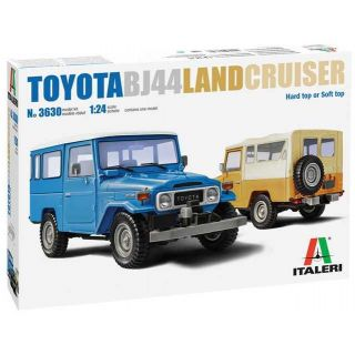 Model Kit auto 3630 - Toyota Land Cruiser BJ-44 Soft/Hard Top (1:24)