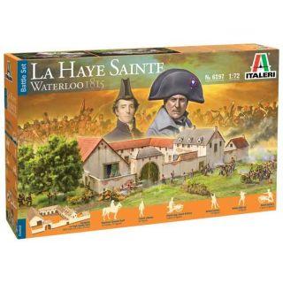 Model Kit diorama 6197 - Waterloo 1815: La Haye Sainte (1:72)