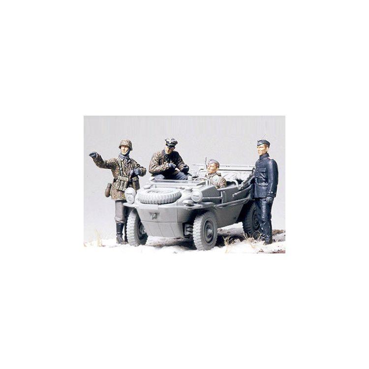 Tamiya German Panzer Division Frontline Reconnaissance Team 1/35