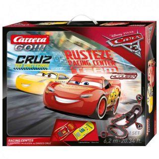 Autodráha Carrera GO 62417 Cars 3 - Racing Center