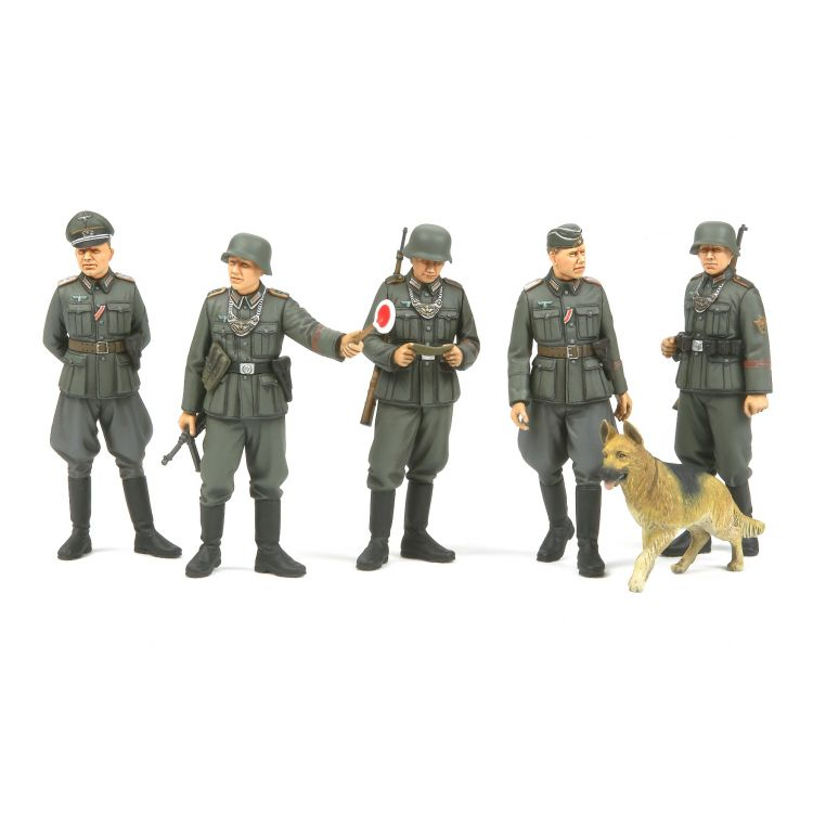 Tamiya WWII German Field Police set 1/35