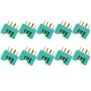 MPX konektor, zelený 10 ks. (samice)