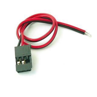 FUTABA konektor s kabelem 200mm, 22AWG/0,32mm (samec), 1 ks.
