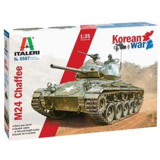 "Model Kit tank 6587 - M24 ""Chaffee"" Korean War (1:35)"