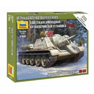 Wargames (WWII) tank 6281 - Soviet Self Propelled Gun SU-122 (1:100)
