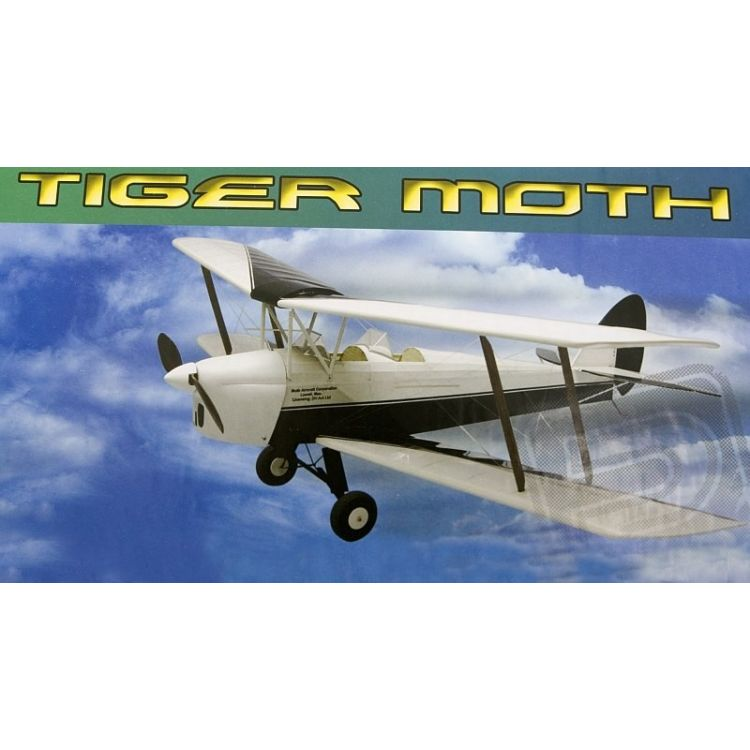 Tiger Moth 889mm laser. vyřezávaný