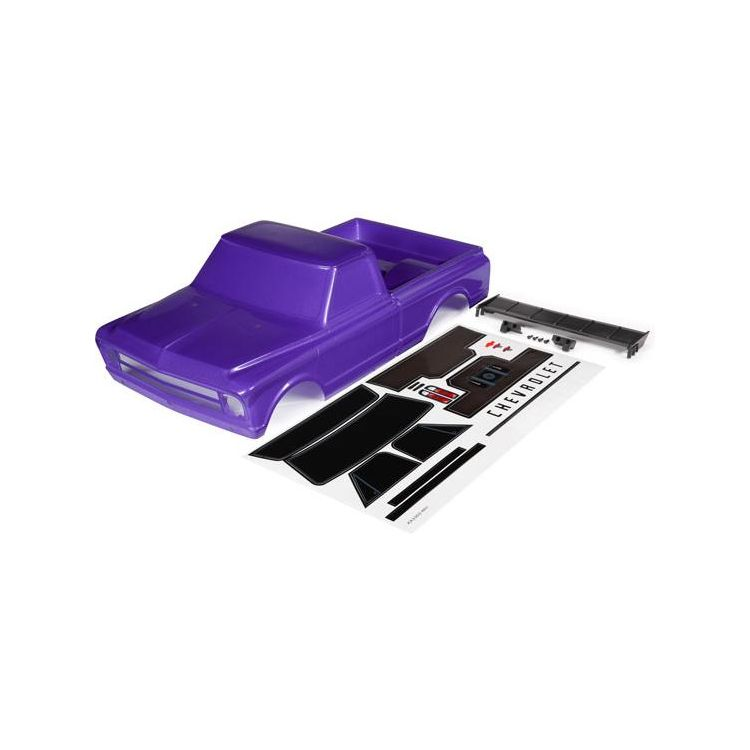 Traxxas karosérie Chevrolet C10 fialová