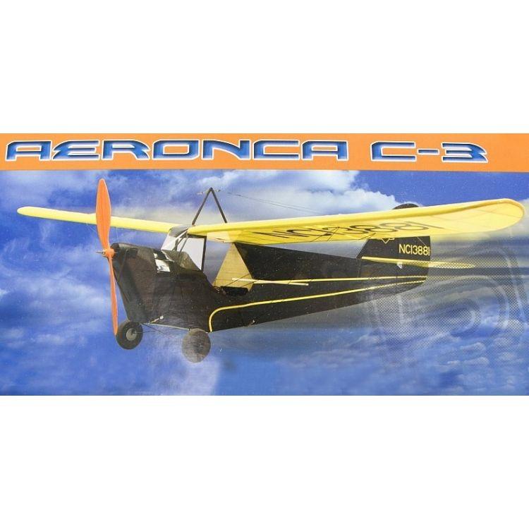 Aeronca C-3 Collegian 889mm laser. vyřezávaná