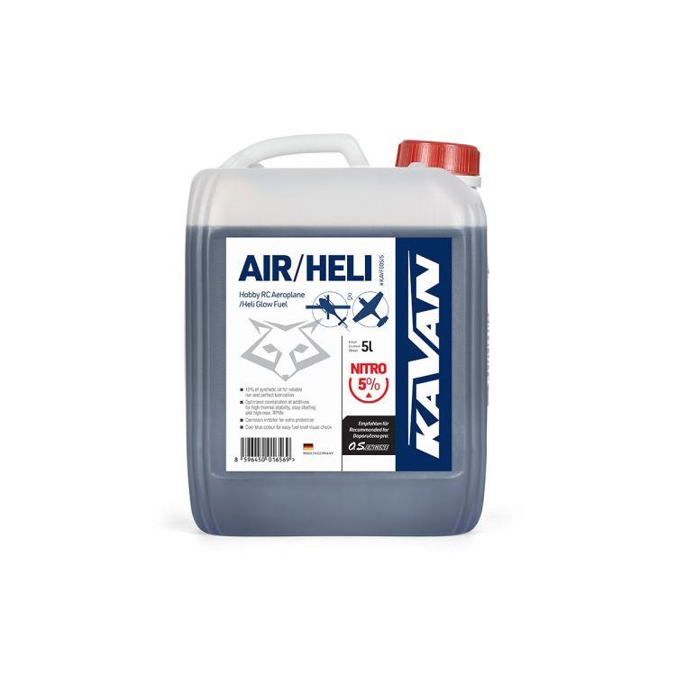 Kavan Air/Heli 5% nitro 5l