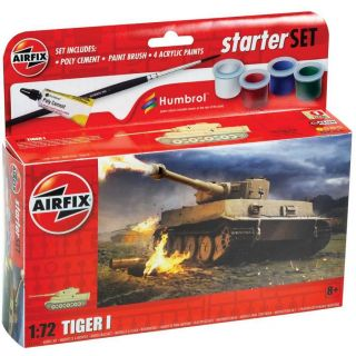 Starter Set tank A55004 - Tiger 1 (1:72)