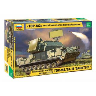 Model Kit military 3633 - Russ.TOR M2 Missile System (1:35)