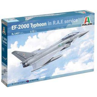 """Model Kit letadlo 1457 - Eurofighter Typhoon EF-2000 """"In R.A.F. Service"""" (1:72)"""