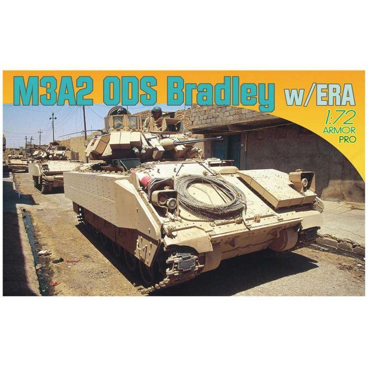 Model Kit tank 7416 - M3A2 ODS Bradley w/ERA (1:72)
