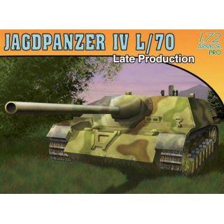 Model Kit tank 7293 - JAGDPANZER IV L/70 LATE PRODUCTION (1:72)