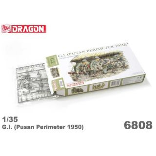 Model Kit figurky 6808 - G.I. (PUSAN PERIMETER 1950) (1:35)