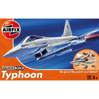 Quick Build letadlo J6002 - Eurofighter Typhoon