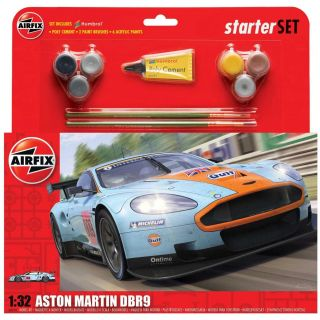 Starter Set auto A50110 - Aston Martin DBR9 Gulf (1:32)
