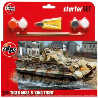 Starter Set tank A55303 - King Tiger Tank (1:76)