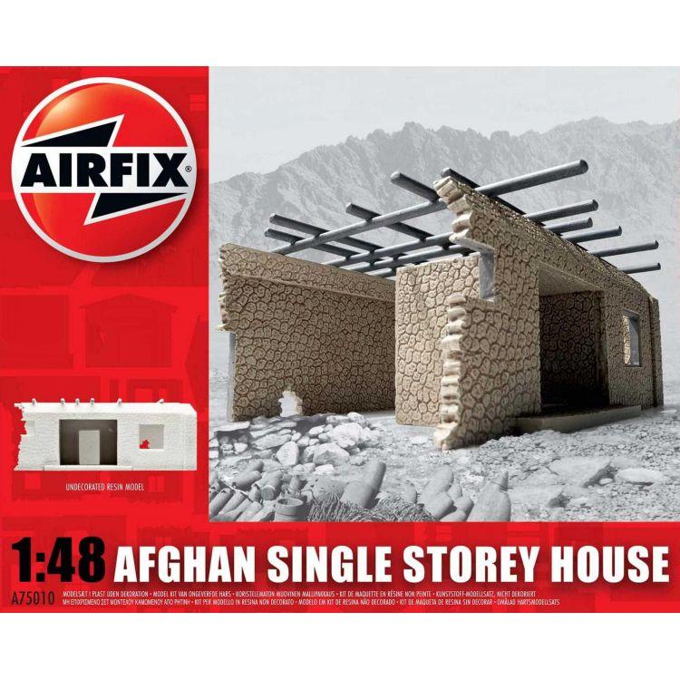 Classic Kit budova A75010 - Afghan Single Storey House (1:48)