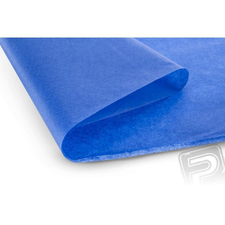 Potahový papír modrý 50,8x76,2cm