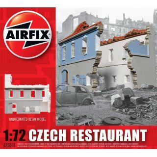 Classic Kit budova A75016 - Czech Restaurant (1:72)