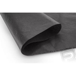 Poťahový papier čierny 50,8x76,2cm