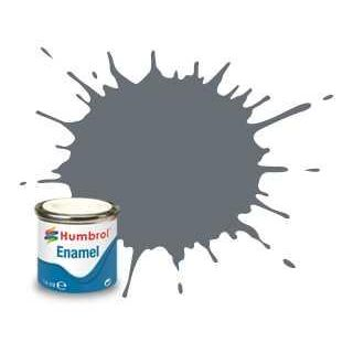 Humbrol barva email AA0059 - No 5 Dark Ad Grey - Gloss - 14ml