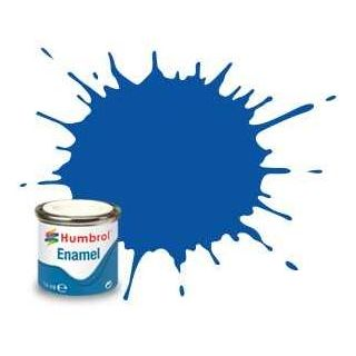 Humbrol barva email AA0151 - No 14 French Blue - Gloss - 14ml