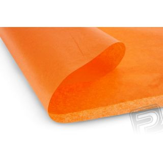 Poťahový papier oranžový 50,8x76,2cm