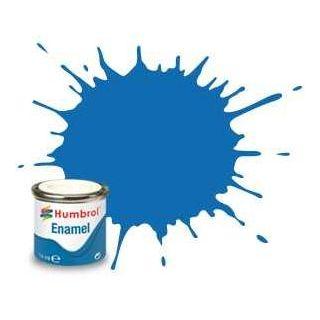 Humbrol barva email AA0566 - No 52 Baltic Blue - Metallic - 14ml