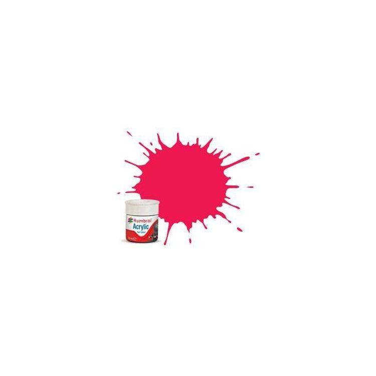 Humbrol barva akryl železniční AB2406 - No RC406 Buffer Beam Red - Matt - 14ml