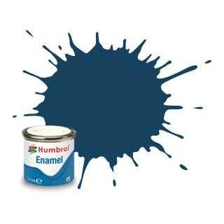 Humbrol barva email AA1153 - No 104 Oxford Blue - Matt - 14ml