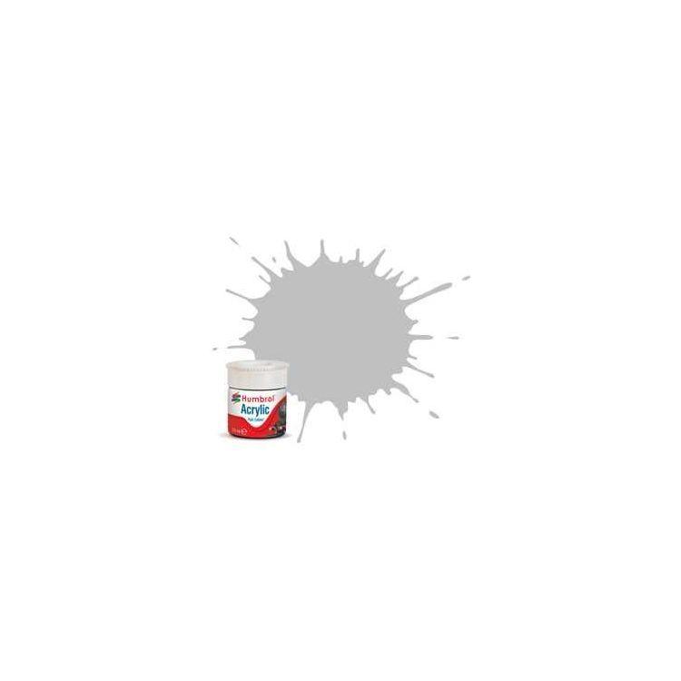 Humbrol barva akryl železniční AB2422 - No RC422 InteNo RCity Grey - Matt - 14ml