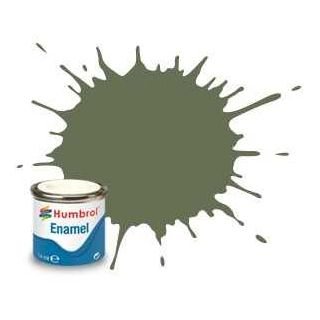 Humbrol barva email AA1167 - No 105 Marine Green. - Matt - 14ml