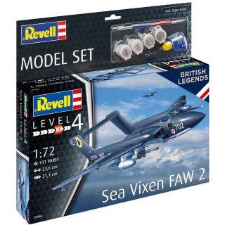 ModelSet letadlo 63866 - Sea Vixen FAW 2 (1:72)