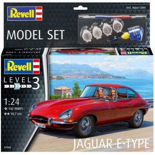 ModelSet auto 67668 - Jaguar E-Type Coupé (1:24)