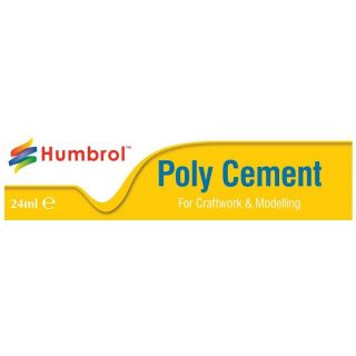 Humbrol Poly Cement Large AE4422 - lepidlo na plasty 24ml tuba