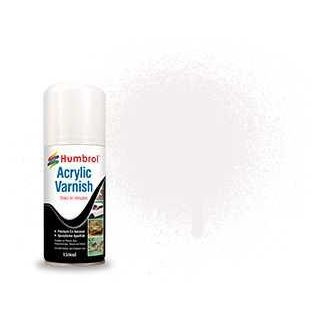 Humbrol sprej akryl lak AD6135 - No 135 Varnish Satin 150ml