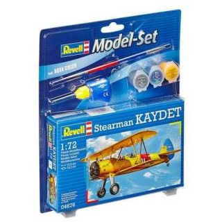 ModelSet letadlo 64676 - Stearman Kaydet (1:72)