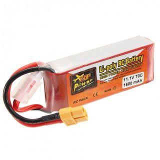 Baterie 1600mAh, 11.1V, 70c