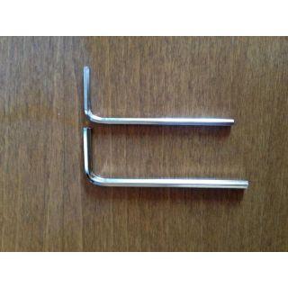 Klíč IMBUS 2mm pro M4 šroub, 2ks