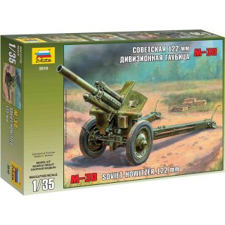 Model Kit military 3510 - M30 Soviet Howitzer 122 mm (1:35)