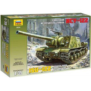 Model Kit military 3534 - ISU-122 (1:35)