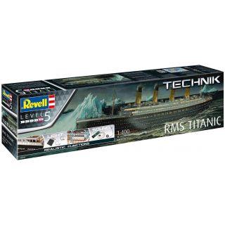 Plastic ModelKit TECHNIK loď 00458 - RMS Titanic (1:400)