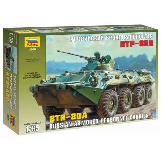 Model Kit military 3560 - BTR-80A Russian Personnel Carrier (1:35)
