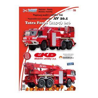 TATRA 815-7 FORCE 6x6 AV 20.1 1:32